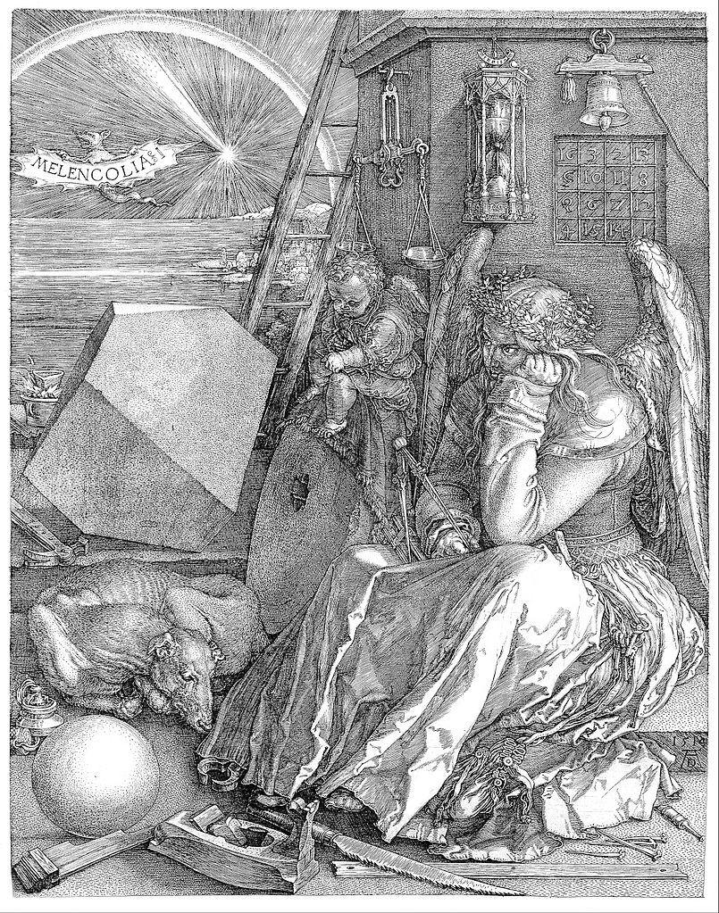 Albrecht Dürer – Alchimia di Melencolia I