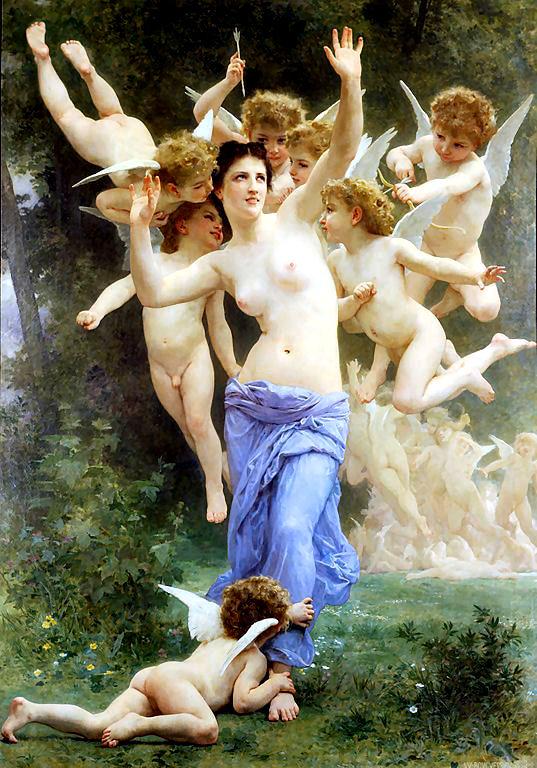 Pothos, la personificazione del desiderio sessuale
