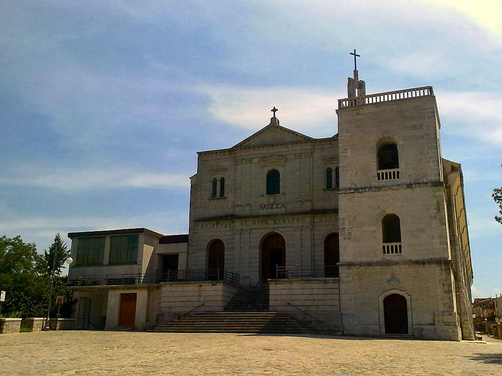 """Materdomini"", sede del Santuario dedicato a San Gerardo Maiella"