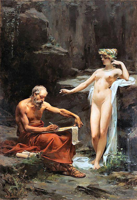 Egeria, antica divinità latina delle acque sorgive