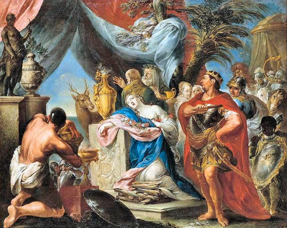 Agamennone, il capo supremo degli Achei