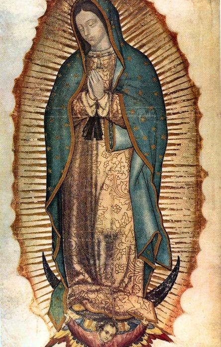 Il mantello della Vergine di Guadalupe