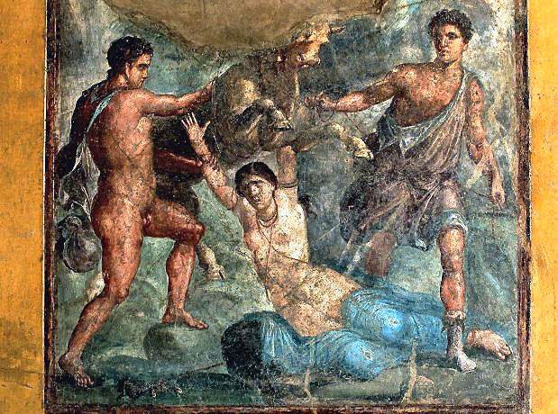 Zeto e Anfione, i figli gemelli diAntiopeeZeus.