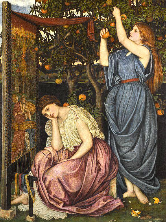 Melanto, un'ancella di Penelope