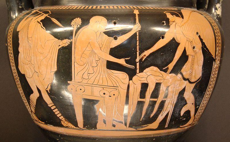 L'indovino Fineo, re della città di Salmidesso in Tracia