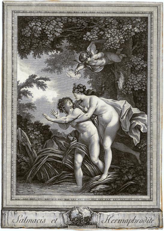 La ninfa Salmace ed Ermafrodito