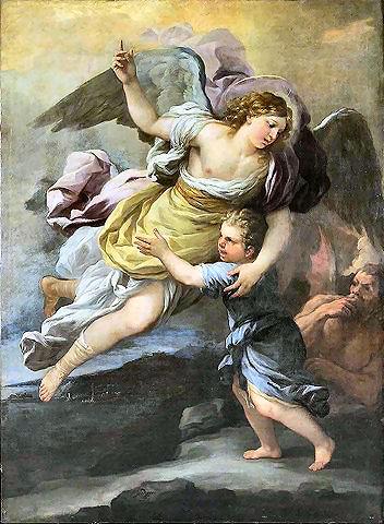 Gli Angeli Custodi dell'uomo (da uno scritto di Madre Provvidenza)