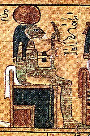 Tefnut, la dea dell'aria umida