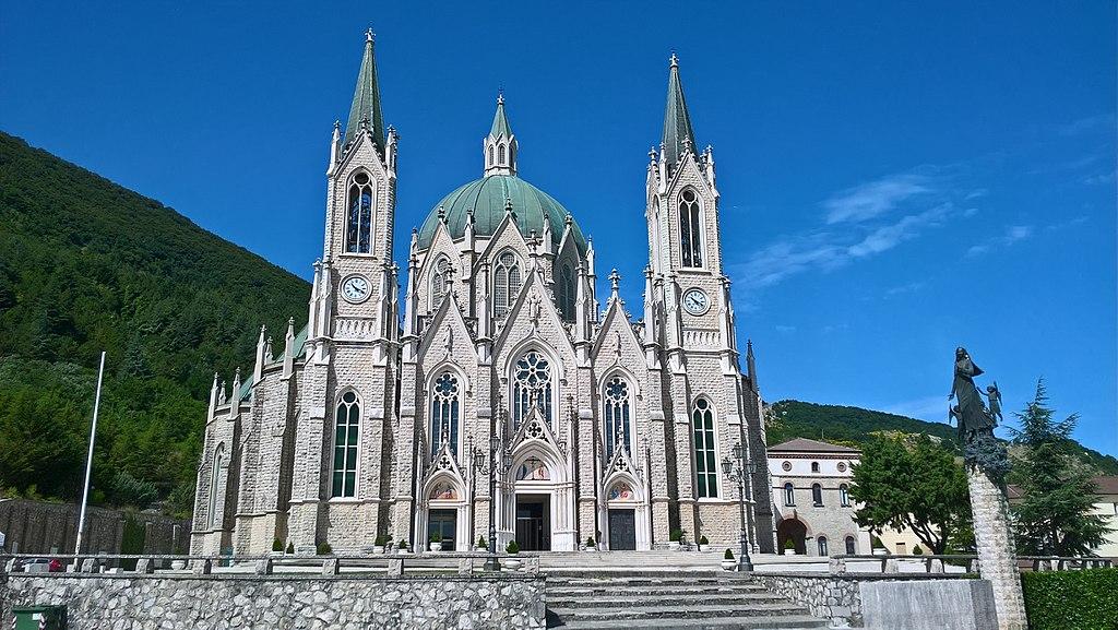 Castelpetroso, santuario di Maria Santissima Addolorata
