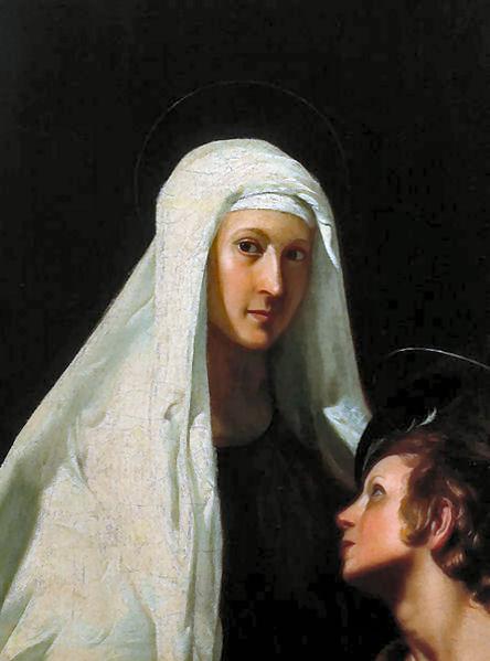 Alcuni contatti tra Angeli e Santi